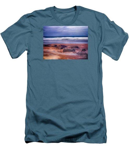 Sand Coast Men's T-Shirt (Slim Fit) by Juergen Klust
