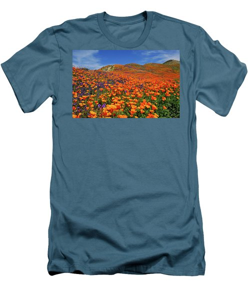 Wildflower Jackpot Men's T-Shirt (Athletic Fit)