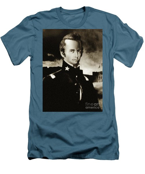 William B Travis - The Alamo Men's T-Shirt (Athletic Fit)