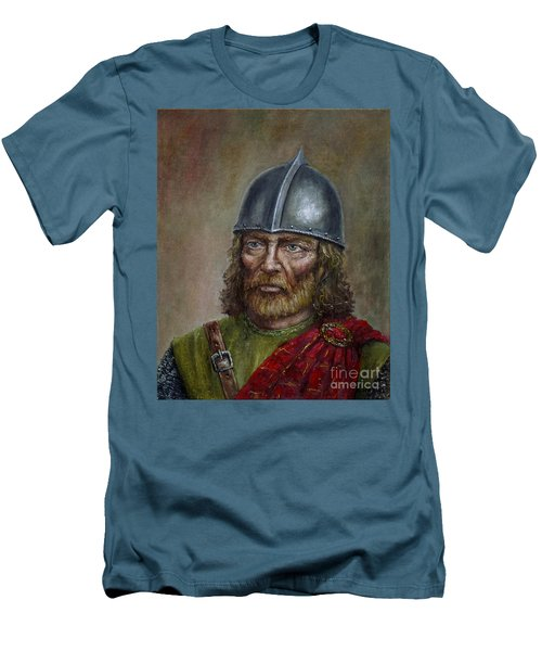 William Wallace Men's T-Shirt (Slim Fit) by Arturas Slapsys