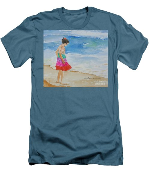 Willow At Rosemary Beach Men's T-Shirt (Athletic Fit)