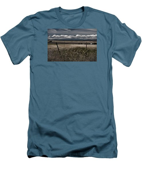 Wind Blown Plains Men's T-Shirt (Athletic Fit)