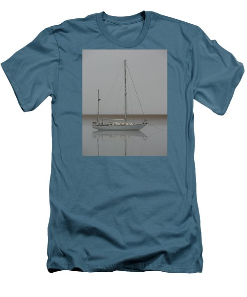 Men's T-Shirt (Slim Fit) featuring the photograph Wind Fall by Laura Ragland