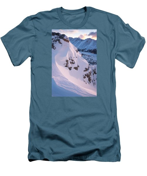 Wind-sculpted Sunset Men's T-Shirt (Athletic Fit)