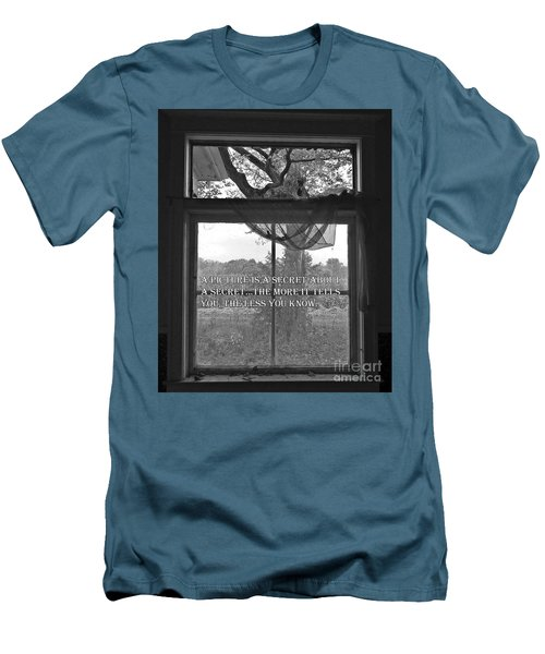 Window Men's T-Shirt (Athletic Fit)
