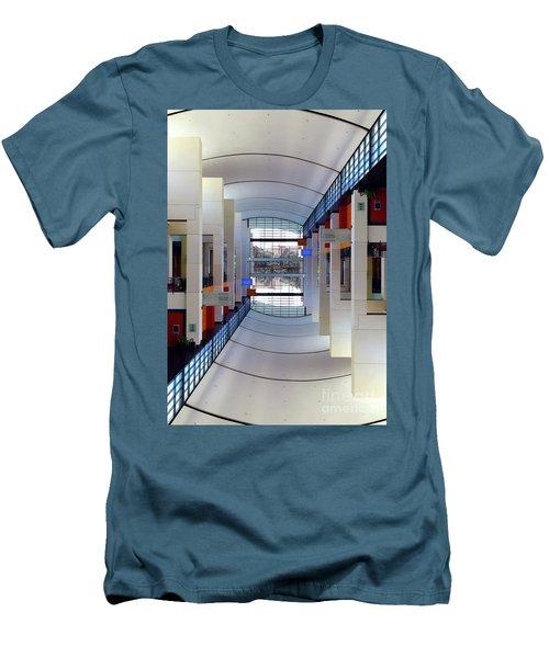 Men's T-Shirt (Slim Fit) featuring the photograph Windows by Brian Jones