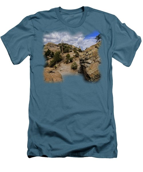 Windy Point No.13 Men's T-Shirt (Slim Fit) by Mark Myhaver