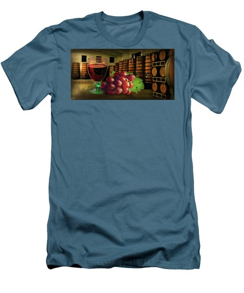 Men's T-Shirt (Athletic Fit) featuring the photograph Wine Tasting by Hanny Heim