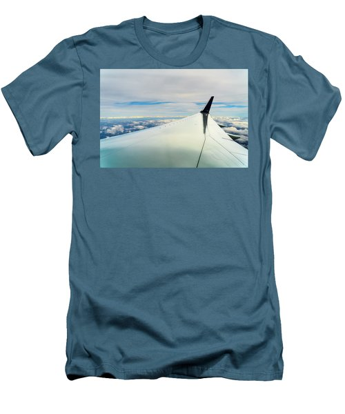 Wing And Clouds Men's T-Shirt (Slim Fit) by Robert FERD Frank