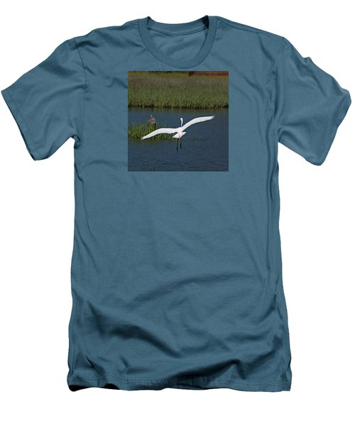 Wingspan Men's T-Shirt (Slim Fit) by Suzanne Gaff