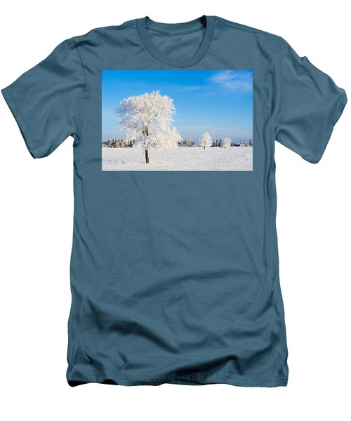Winter Frostland Men's T-Shirt (Athletic Fit)