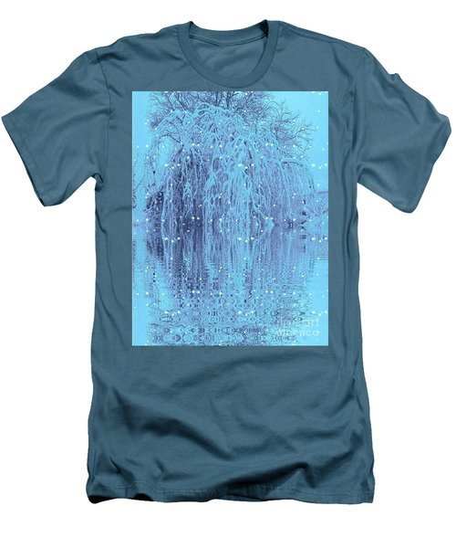 Winter Is Pretty Men's T-Shirt (Slim Fit) by Holly Martinson