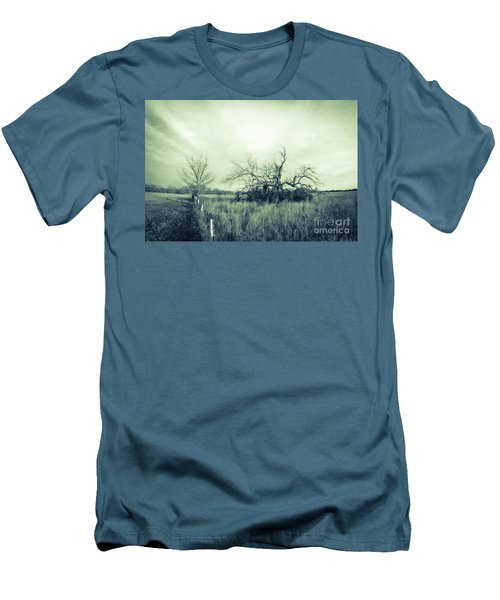 Winter Pecan Men's T-Shirt (Athletic Fit)