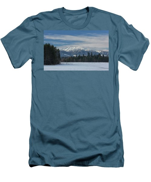 Men's T-Shirt (Slim Fit) featuring the photograph Winter by Randy Hall