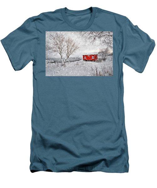 Winter Secret Men's T-Shirt (Athletic Fit)