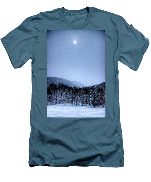 Winter Sun Men's T-Shirt (Slim Fit) by Jonny D