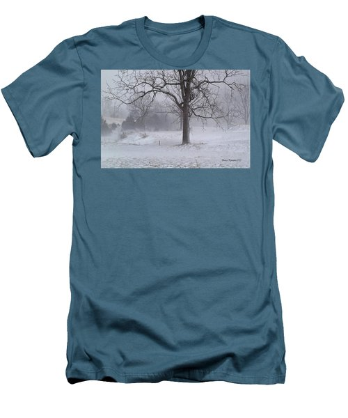 Winter Walnut Men's T-Shirt (Slim Fit)