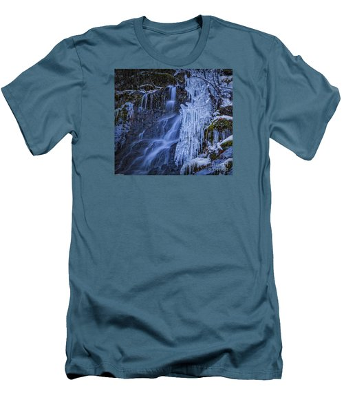 Winterfalls Men's T-Shirt (Athletic Fit)
