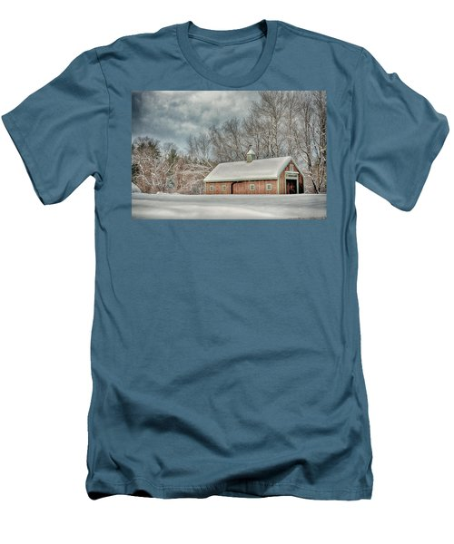Winters Coming Men's T-Shirt (Slim Fit) by Tricia Marchlik