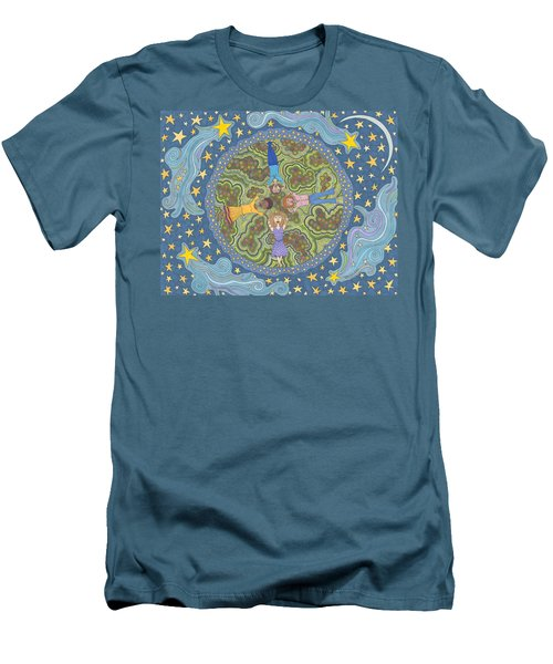 Wish Upon A Star Men's T-Shirt (Athletic Fit)