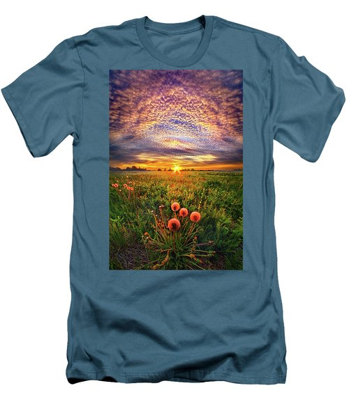 Men's T-Shirt (Slim Fit) featuring the photograph With Gratitude by Phil Koch