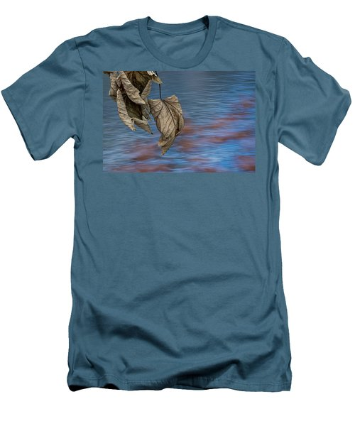 Withered Leaves Men's T-Shirt (Athletic Fit)