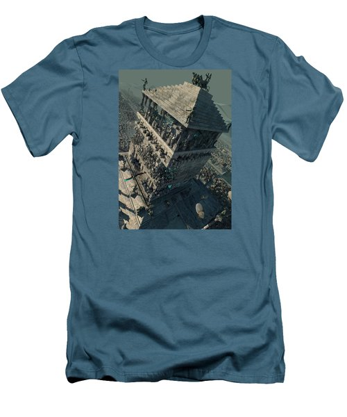 wonders Mausoleum at Halicarnassus Men's T-Shirt (Athletic Fit)