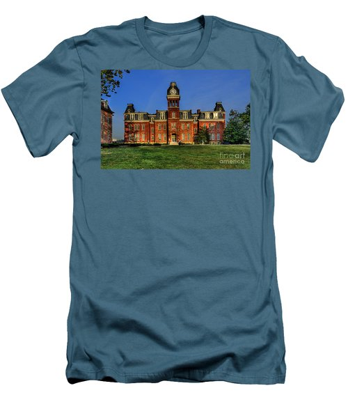 Woodburn Hall In Morning Men's T-Shirt (Athletic Fit)