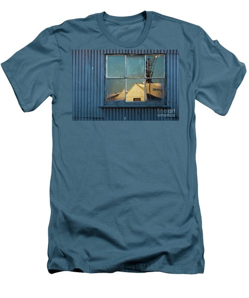 Men's T-Shirt (Slim Fit) featuring the photograph Work View 1 by Werner Padarin