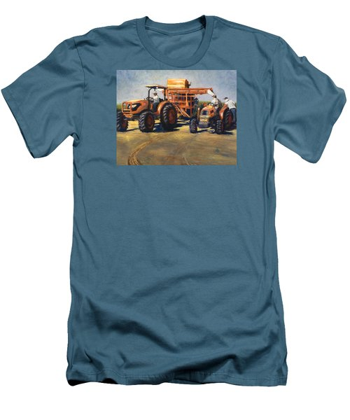 Workin' At The Ranch Men's T-Shirt (Athletic Fit)