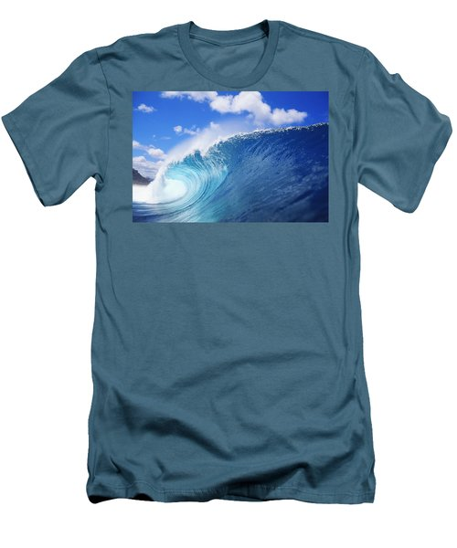 World Famous Pipeline Men's T-Shirt (Slim Fit) by Vince Cavataio - Printscapes