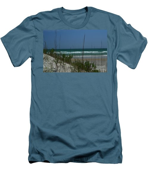 Wrightsville Beach North Dunes Men's T-Shirt (Athletic Fit)
