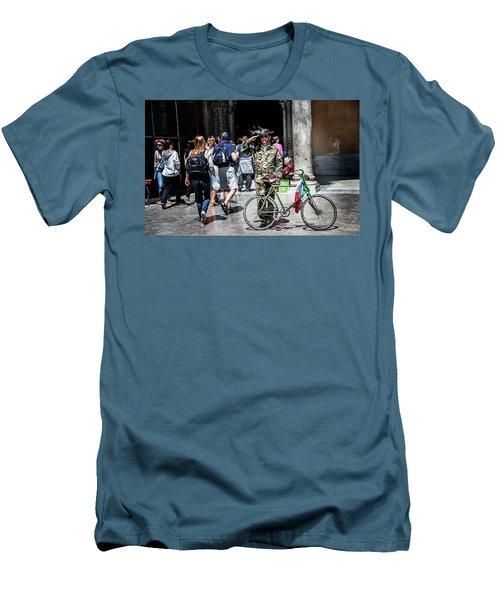 Ww II Soldier Men's T-Shirt (Slim Fit) by Patrick Boening