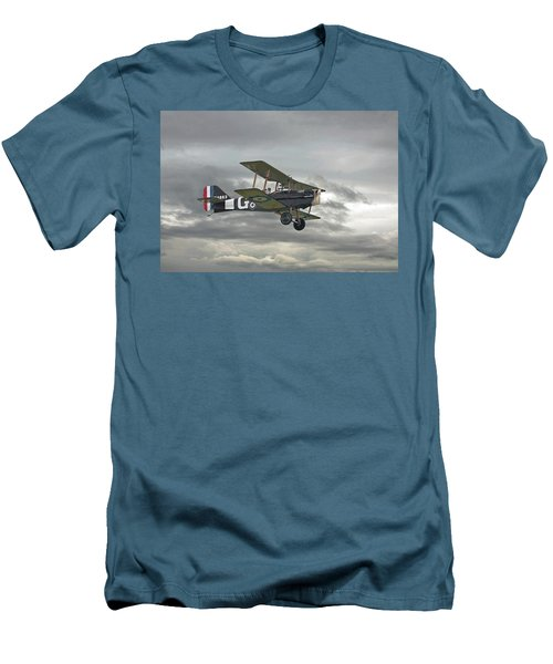 Men's T-Shirt (Slim Fit) featuring the digital art Ww1 - Icon Se5 by Pat Speirs