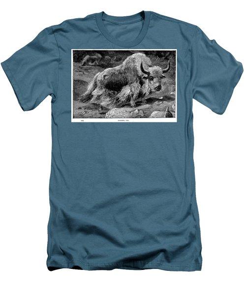 YAK Men's T-Shirt (Slim Fit) by Granger