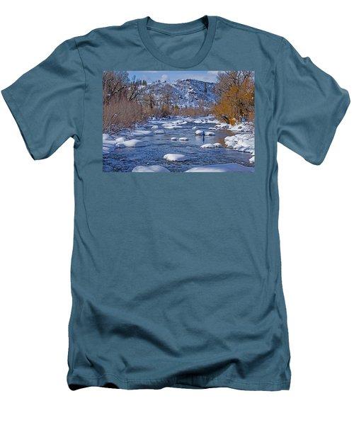 Yampa River Men's T-Shirt (Slim Fit) by Sean Allen