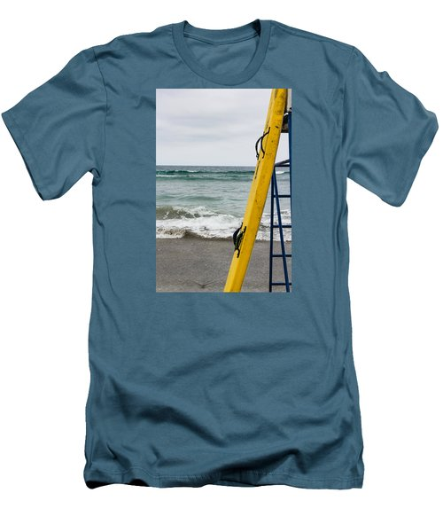 Yellow Surfboard Men's T-Shirt (Athletic Fit)