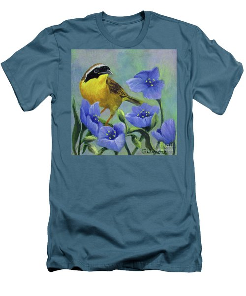 Yellow Bird Men's T-Shirt (Athletic Fit)