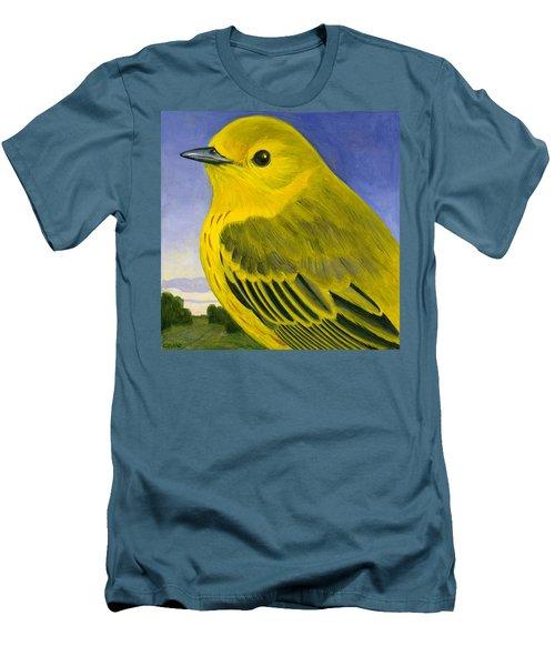 Yellow Warbler Men's T-Shirt (Slim Fit) by Francois Girard