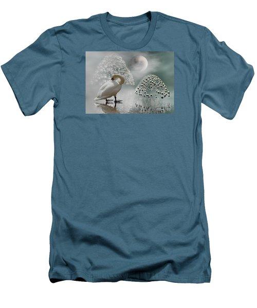 Yinyang - Moon Men's T-Shirt (Athletic Fit)