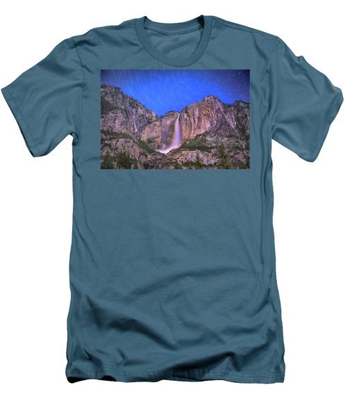 Yosemite At Night Men's T-Shirt (Athletic Fit)