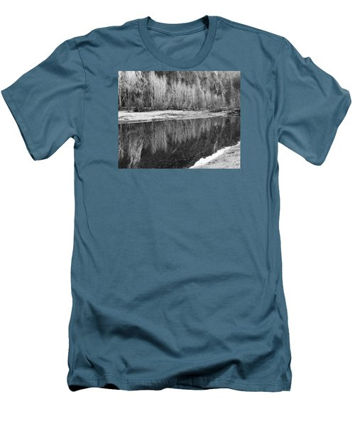 Yosemite  Men's T-Shirt (Slim Fit) by Lora Lee Chapman
