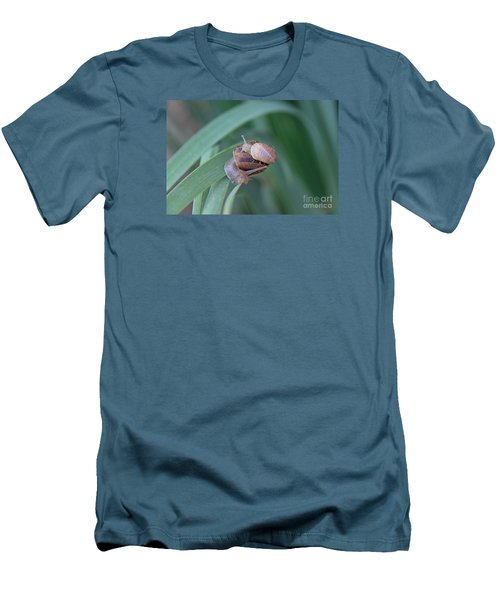 You And Me Kid Men's T-Shirt (Slim Fit) by Suzanne Oesterling