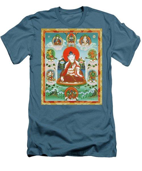 Yuthok Bumseng With Retinue Men's T-Shirt (Athletic Fit)