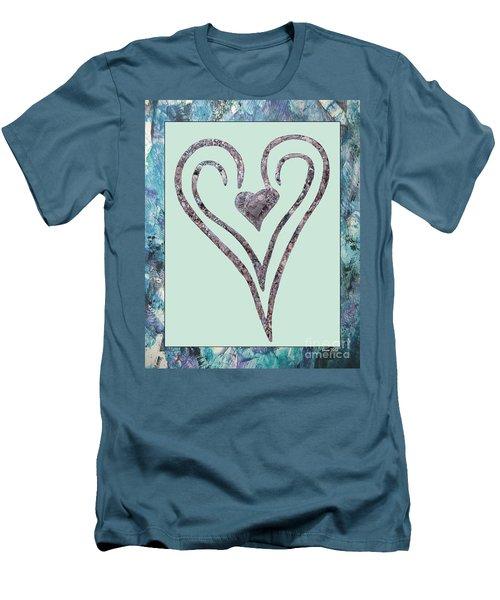 Zen Heart Sedona Labyrinth Men's T-Shirt (Athletic Fit)