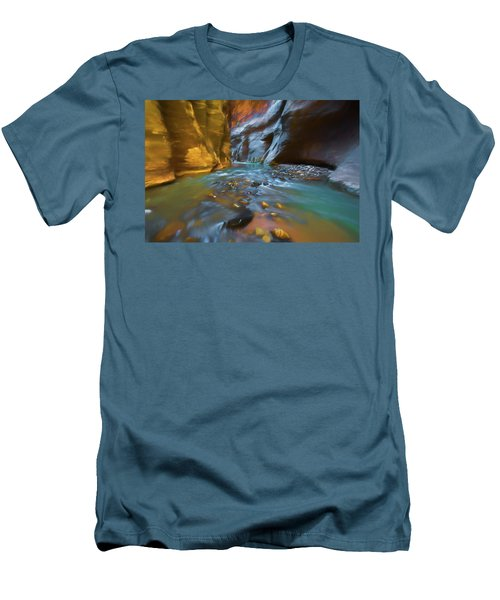Zion Watercolor Men's T-Shirt (Athletic Fit)