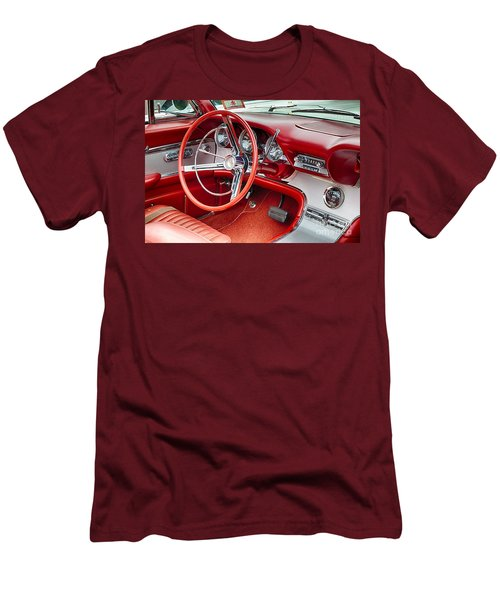 62 Thunderbird Interior Men's T-Shirt (Slim Fit) by Jerry Fornarotto