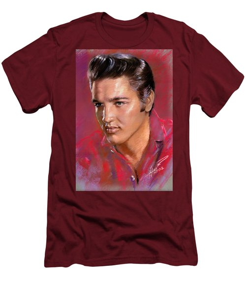 Elvis Presley Men's T-Shirt (Athletic Fit)
