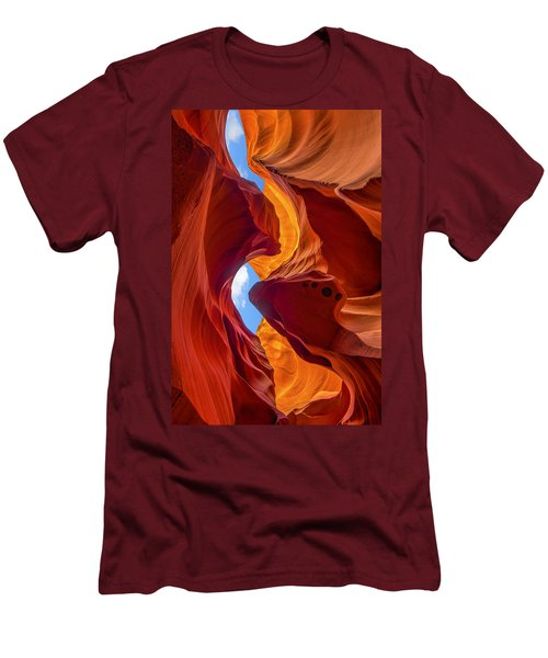 Enduring Beauty  Men's T-Shirt (Slim Fit) by Dustin  LeFevre