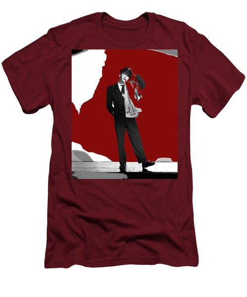 Frank Sinatra Pal Joey Publicity Photo 1957-2014 Men's T-Shirt (Slim Fit) by David Lee Guss